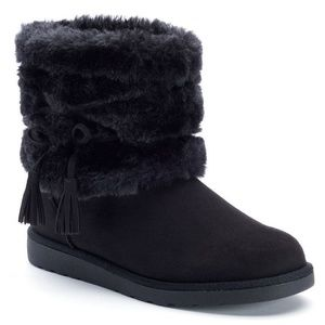 SO Women's Fold-Over Boots